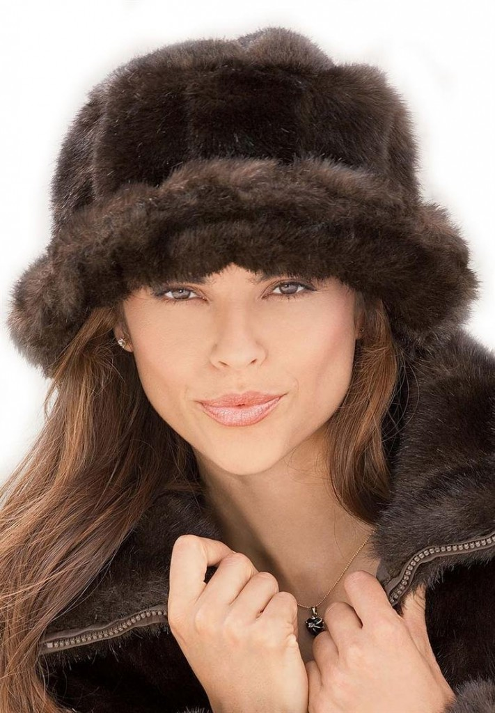Womens Faux Fur Hats. When you want to stay warm during the cold winter months, women's faux fur hats will keep you toasty all season long. You'll face the cold weather in chic style when you opt for knit hats featuring an ultra cozy and plush faux fur trim.