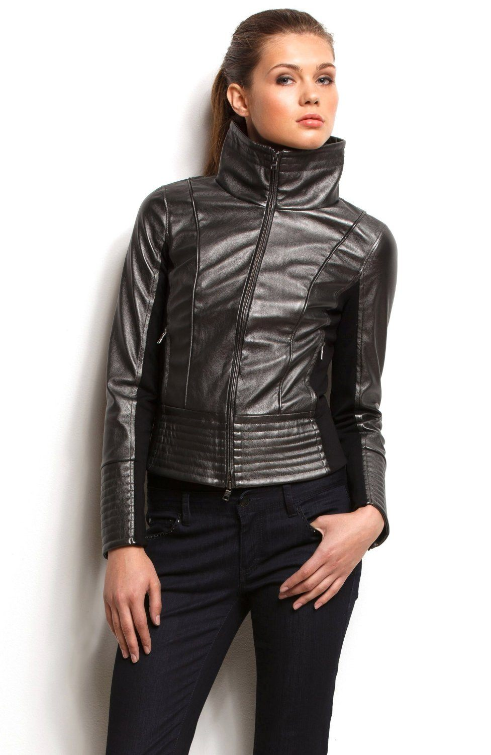 Leather jacket trends