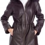 Fashion leather coat 2014
