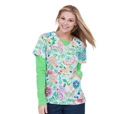 tropical print t shirt for women 2014
