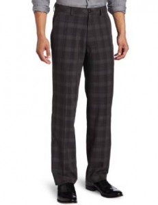 Casual plaid pants for men