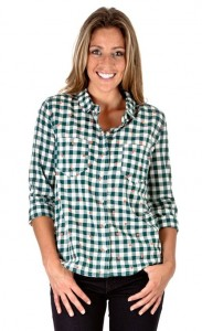 checkered shirt for ladies