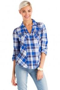 ladies checkered shirt 2014-2015