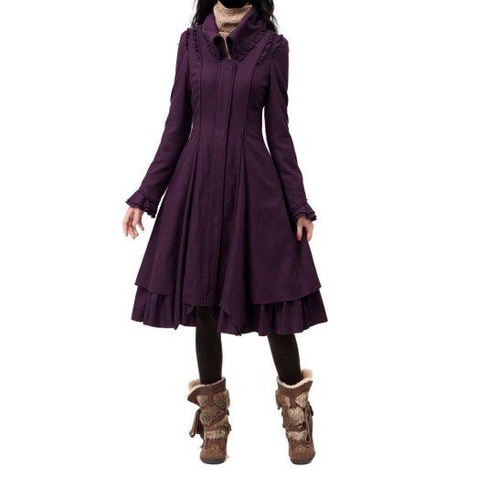 ladies swing coat 2014-2015