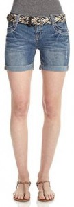 ladies womens denim shorts