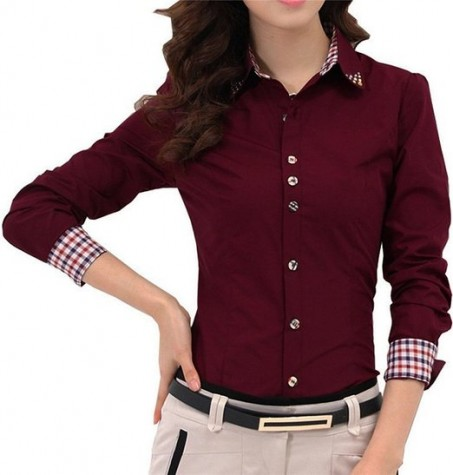 Women's Office Shirts 2016 – Latest Trend Fashion