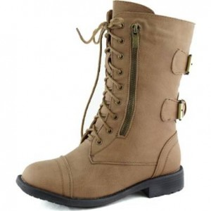 Military boots for women