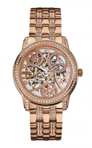 guess skeleton watch