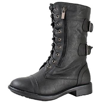 lace up boots under 100$