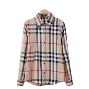 women Checkered shirt 2014