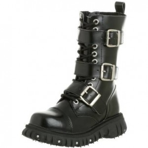 womens buckle boots