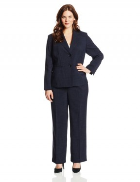 bleu business suit for ladies 2014-2015