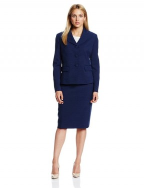 bleu business suit for women 2014-2015