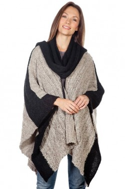 fall women's poncho 2014-2015