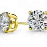Ladies stud earrings 2015