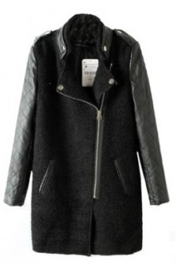 ladies leather jacket for winter 2014-2015