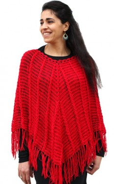 ladies poncho 2014