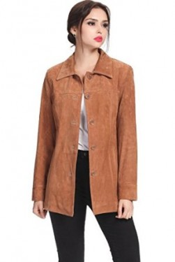 suede coat for women 2014-2015