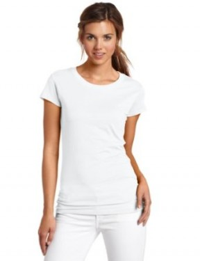 white t shirt for women