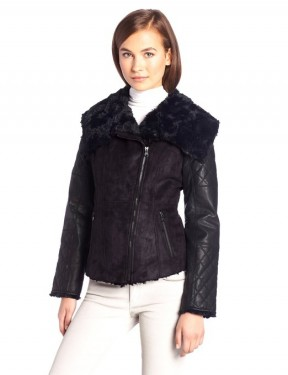 winter leather jacket for women  2014-2015