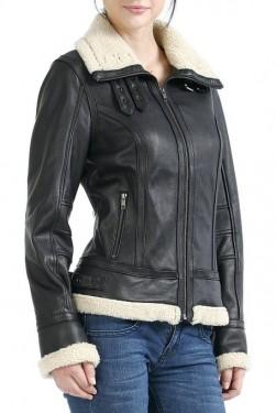 Winter Leather Jackets Womens - JacketIn