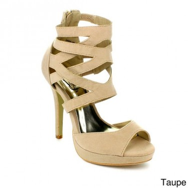 women strappy pumps