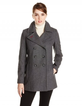 women's double breasted coat 2014-2015