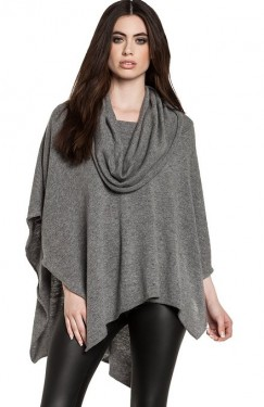 women's latest poncho 2014-2015