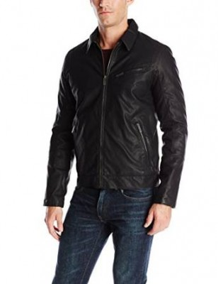 bomber jacket form leather men 2015