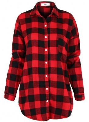ladies checkered shirt 2015