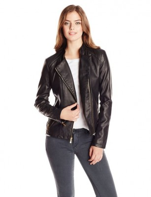 spring leather jacket for women 2015