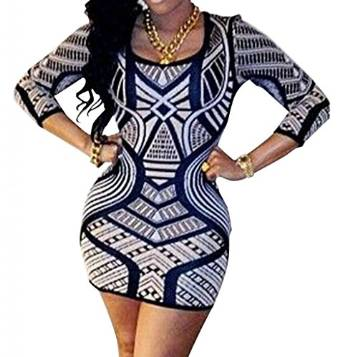 stunning geomtric dress 2015