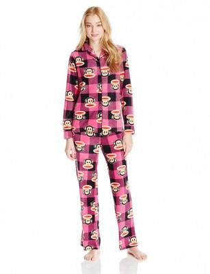 woman fleece pajama 2015