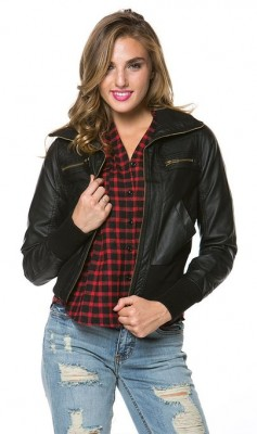 two big categories leather bomber jacket and non leather bomber jacket