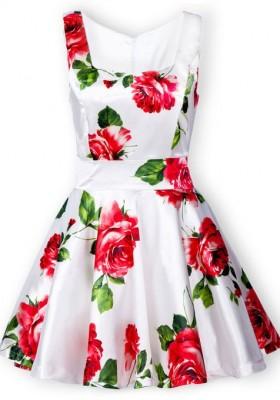 2014-2015 floral dress