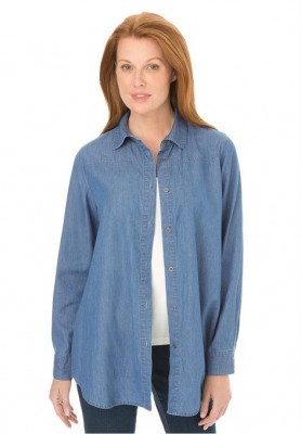 ladies best denim shirt 2015