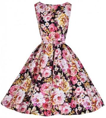 ladies best floral dress 2015