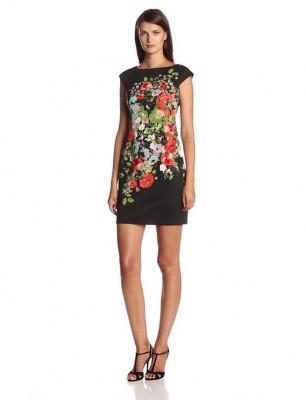 ladies floral dress 2014-2015