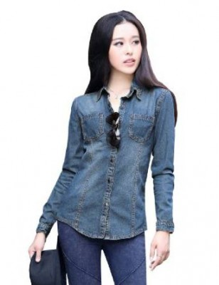 womens denim shirt 2015