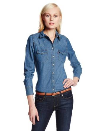 2015 best denim shirt
