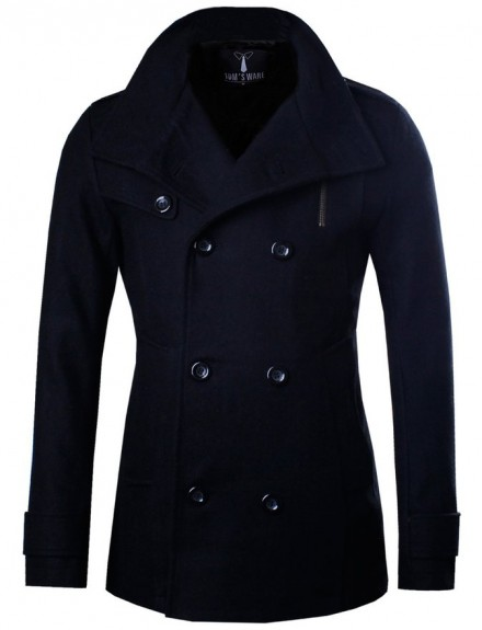gents pea coat 2015-2016