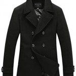 Fashionable Pea Coat for Men 2015-2016