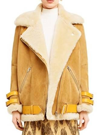 2016 shearling jackets for women