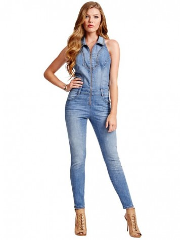 best denim jumpsuits 2015-2016