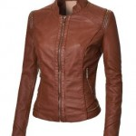 How to Wear a Leather Jacket in Fall