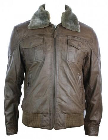 aviator leather jacket 2015-2016