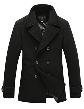 best gents pea coat 2015-2016