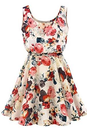 best floral dress 2015-2016