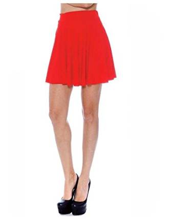 best tips to wear red skirt 2015