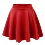 Tips to Wear a Red Skirt
